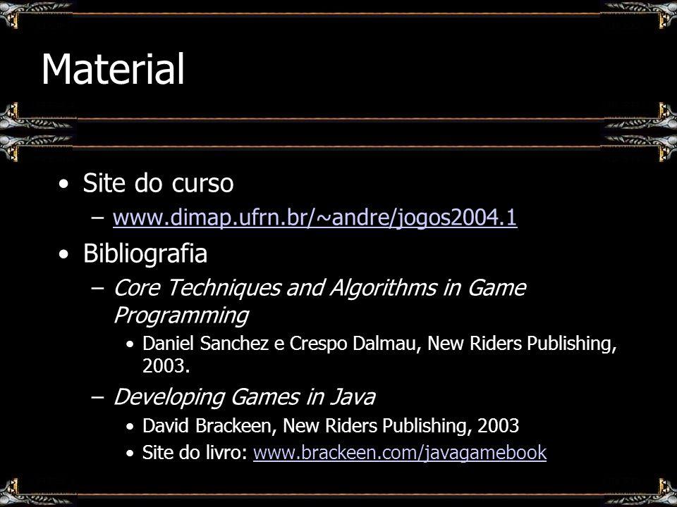 Material Site do curso Bibliografia