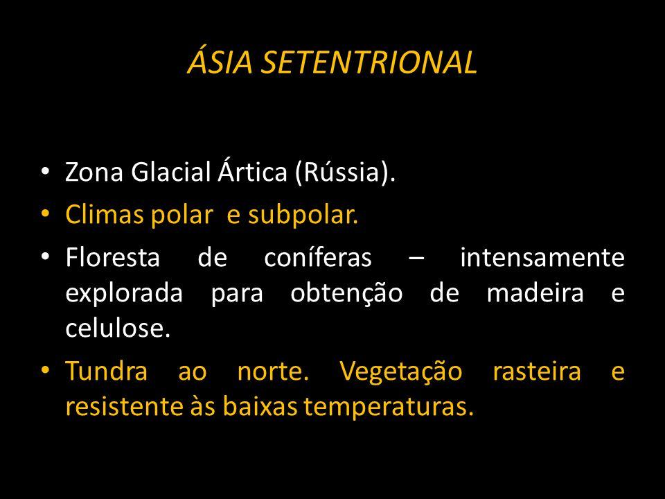ÁSIA SETENTRIONAL Zona Glacial Ártica (Rússia).