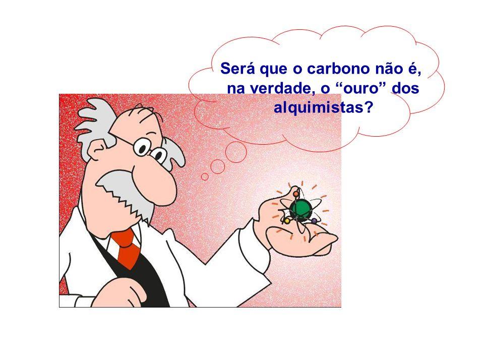 Será que o carbono não é, na verdade, o ouro dos alquimistas