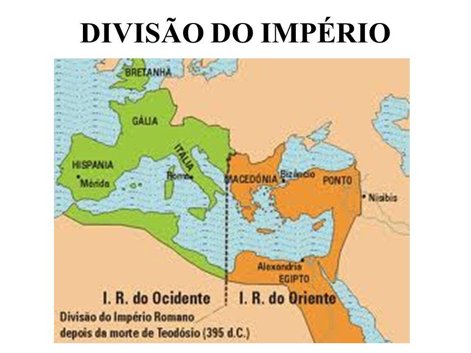 DIVISÃO DO IMPÉRIO