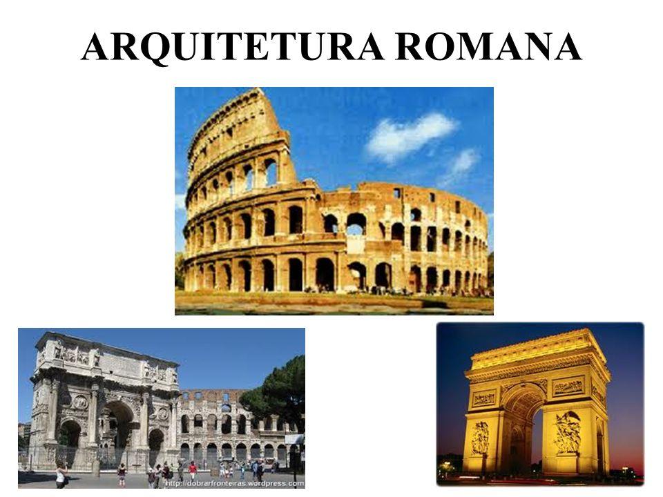 ARQUITETURA ROMANA