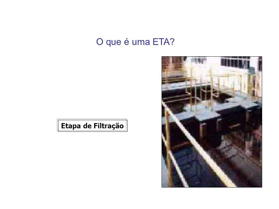 O que é uma ETA Etapa de Filtração