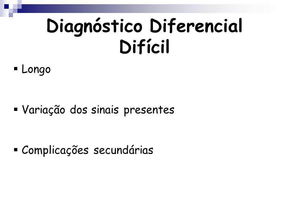 Diagnóstico Diferencial Difícil