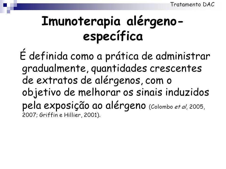 Imunoterapia alérgeno-específica
