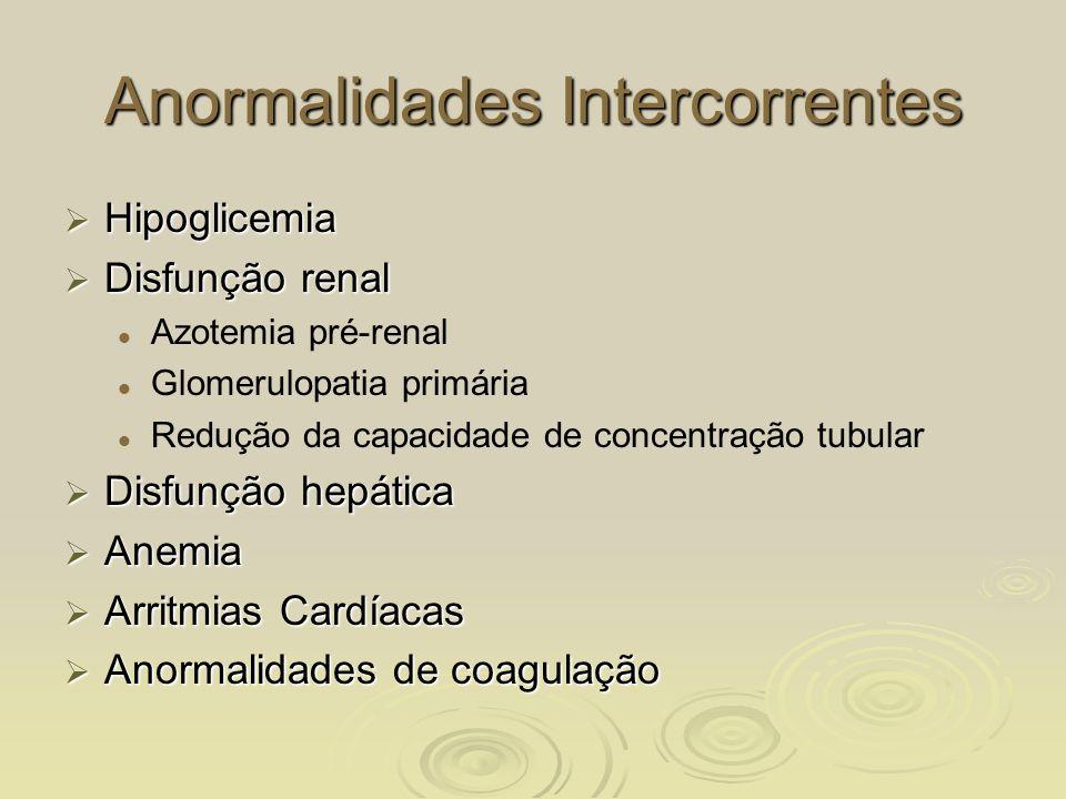 Anormalidades Intercorrentes