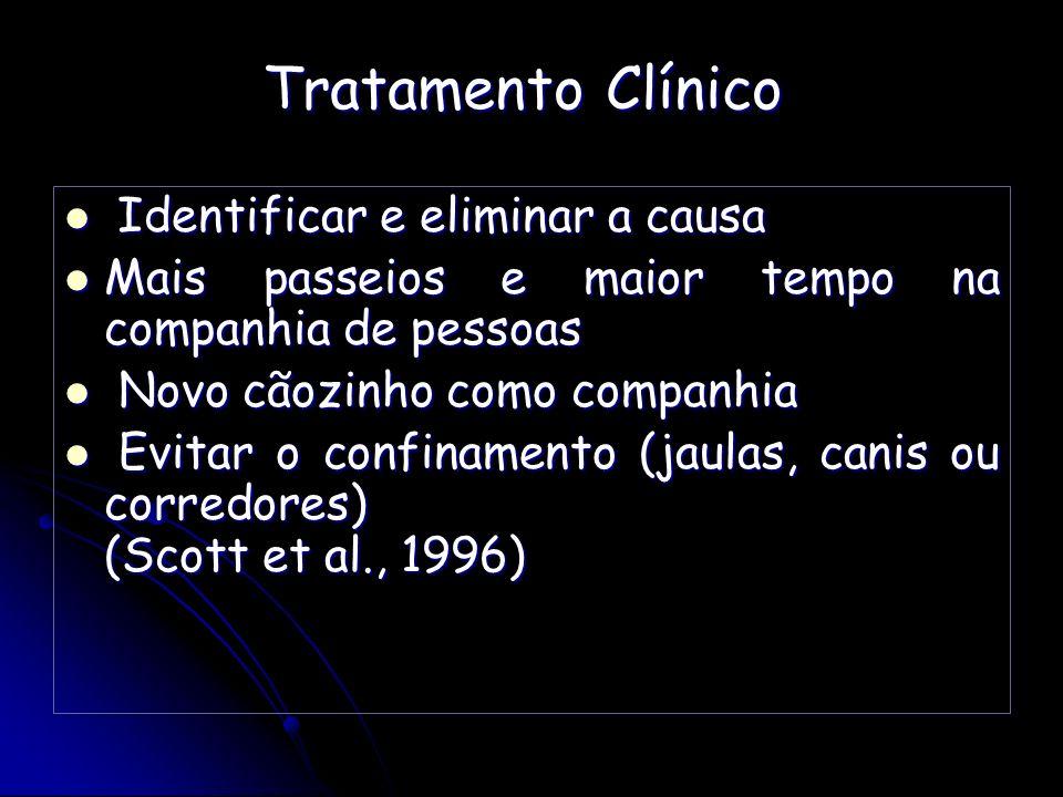 Tratamento Clínico Identificar e eliminar a causa