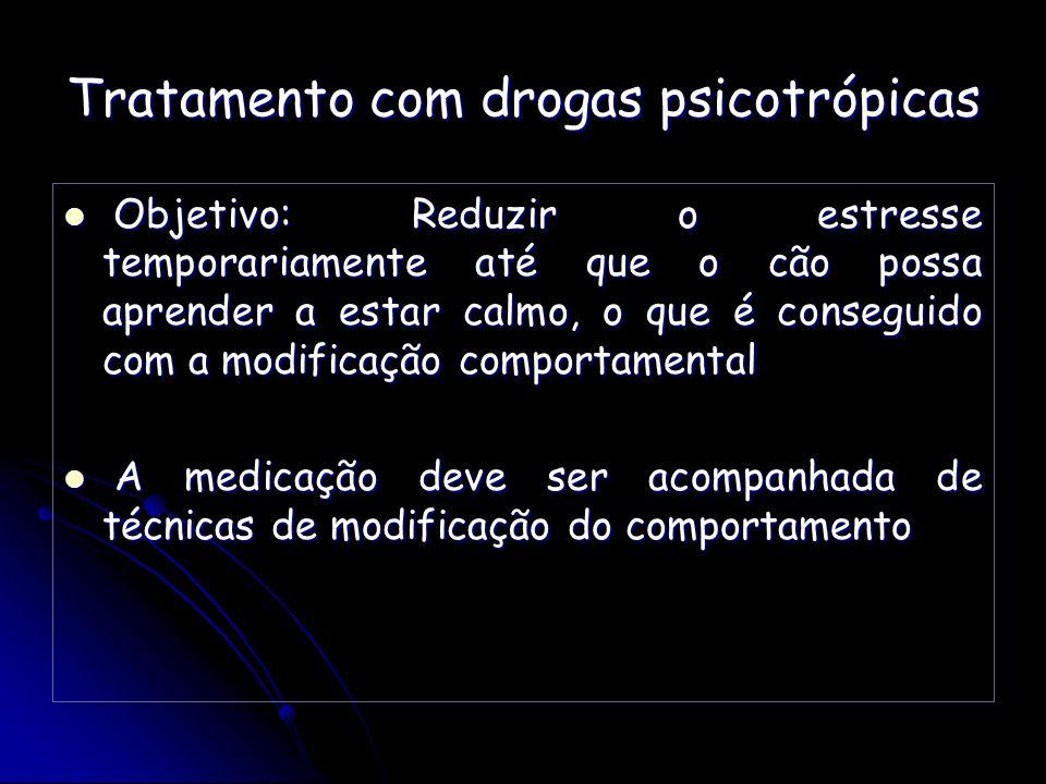 Tratamento com drogas psicotrópicas