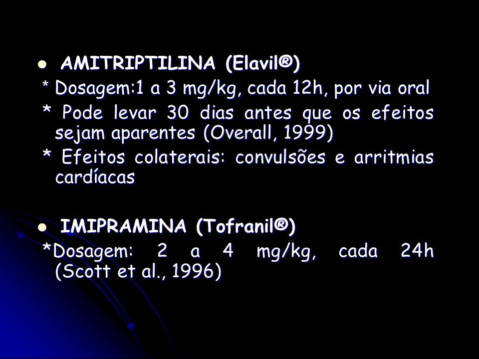 AMITRIPTILINA (Elavil®)