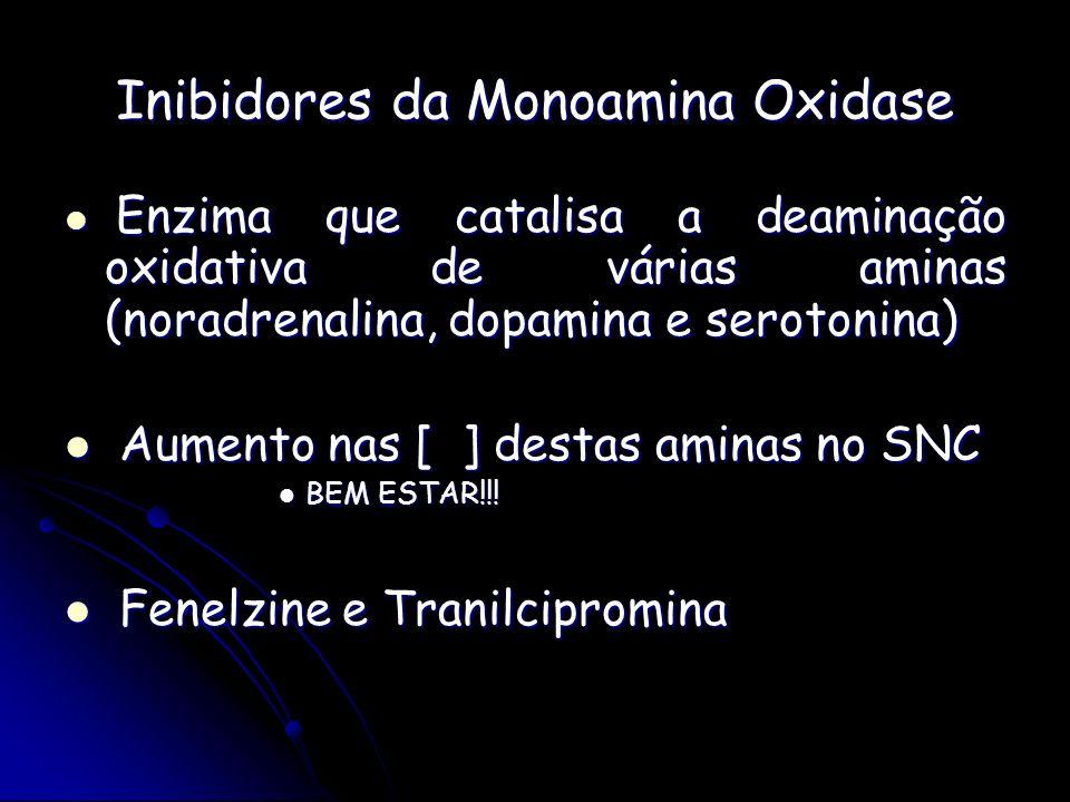 Inibidores da Monoamina Oxidase