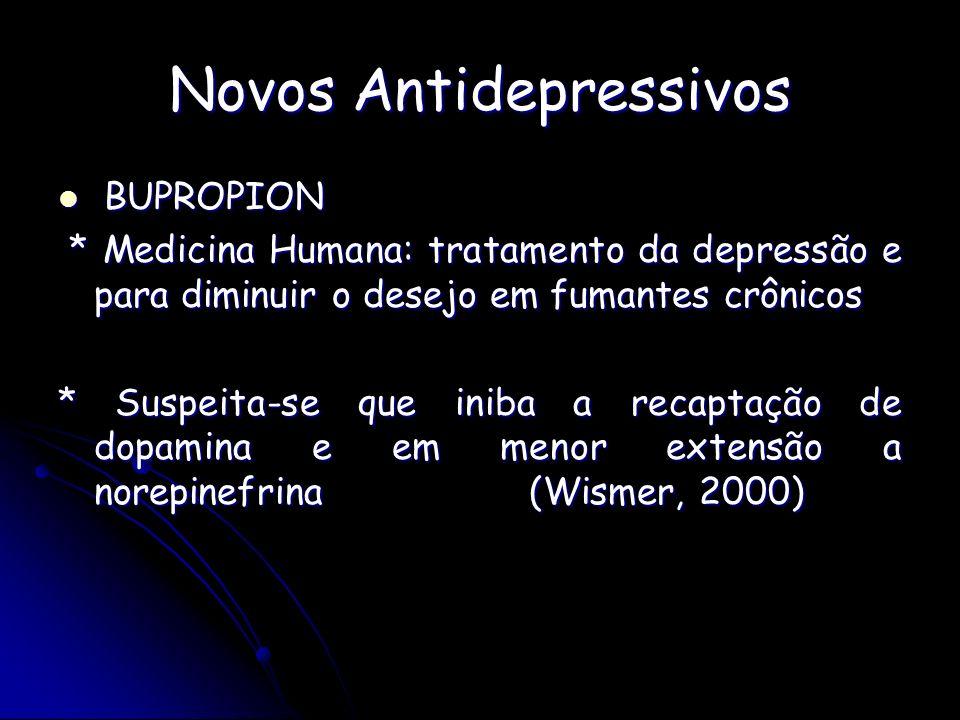 Novos Antidepressivos