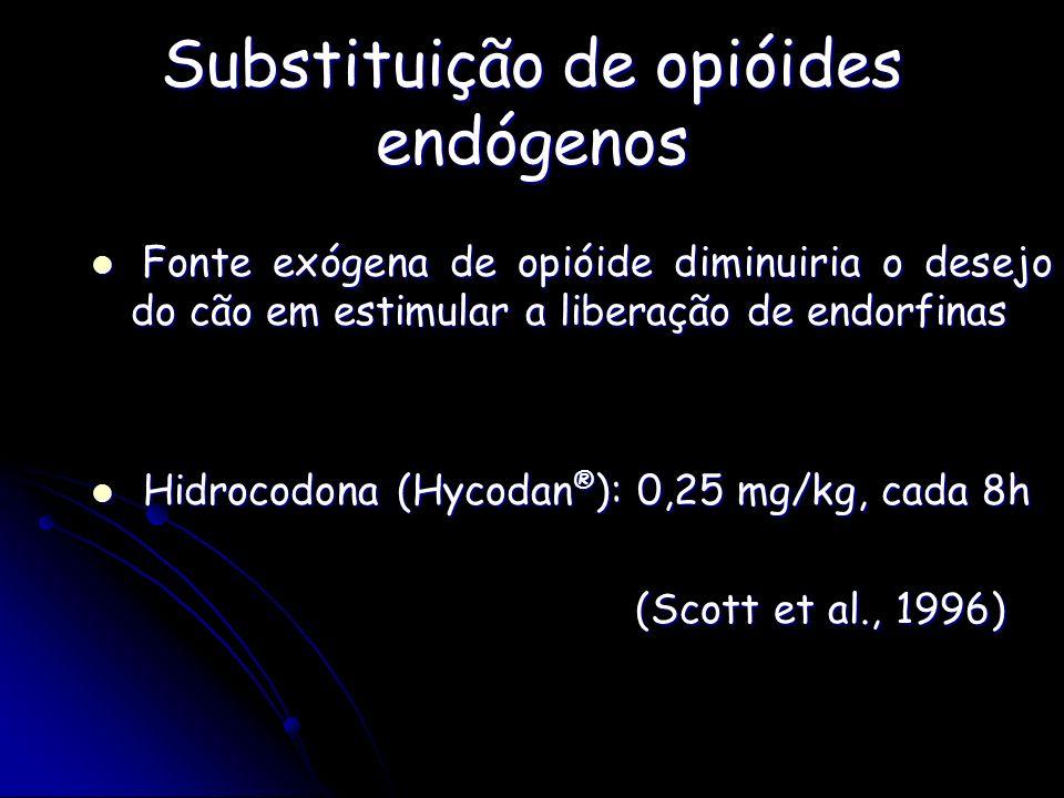 Substituição de opióides endógenos