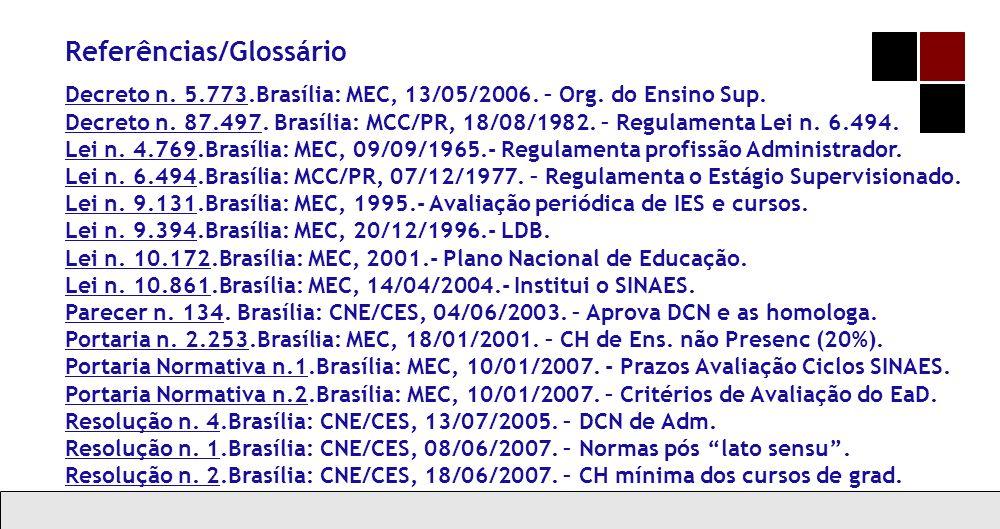 Referências/Glossário
