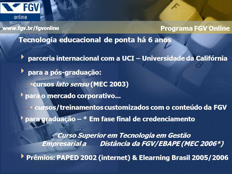 Tecnologia educacional de ponta há 6 anos