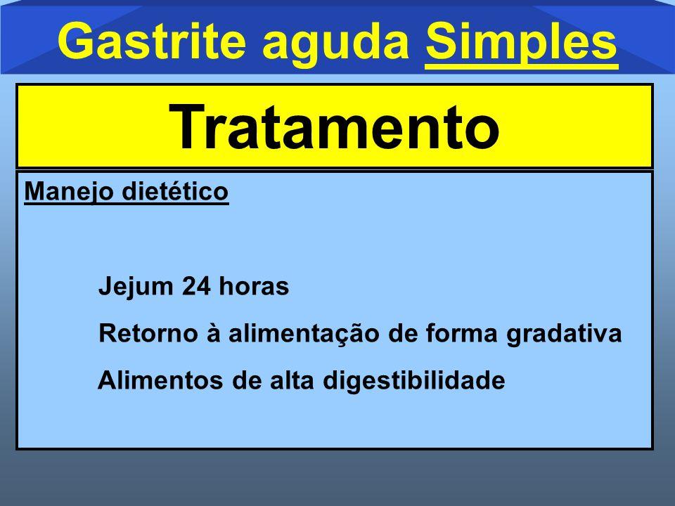 Gastrite aguda Simples
