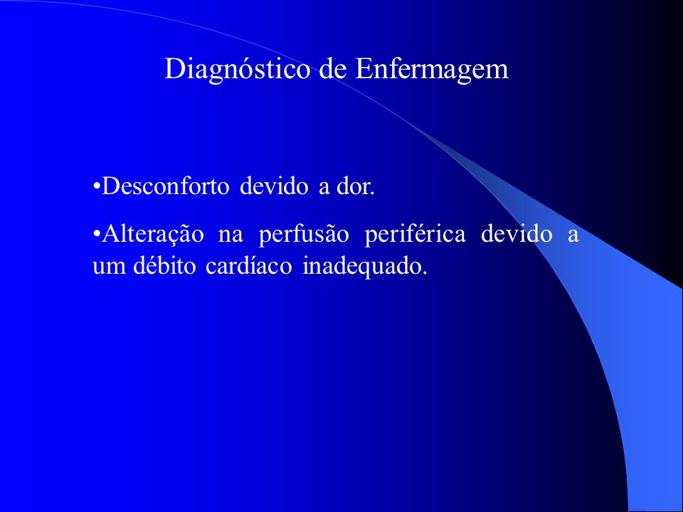 Diagnóstico de Enfermagem