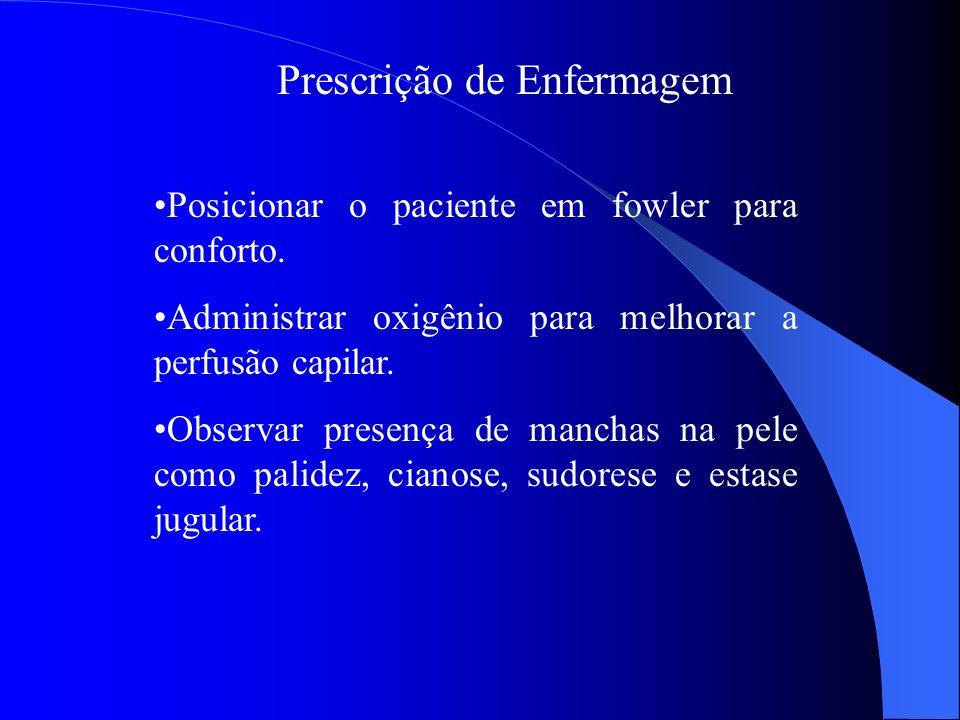 Prescrição de Enfermagem