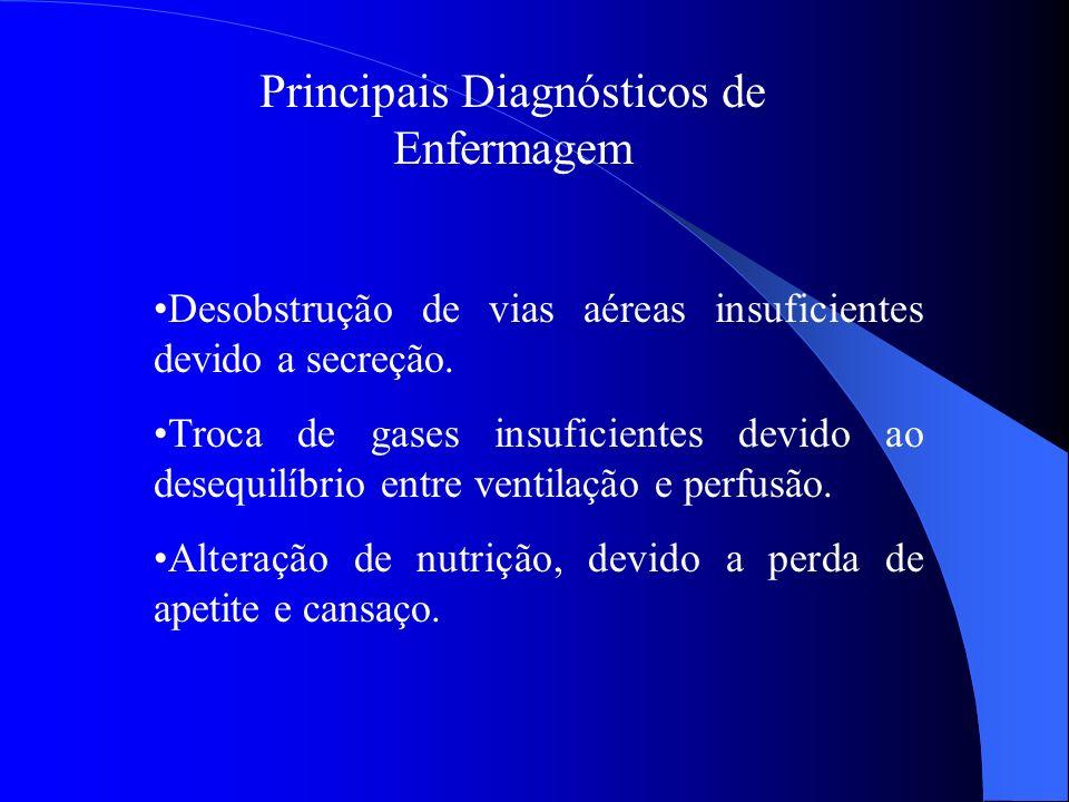 Principais Diagnósticos de Enfermagem