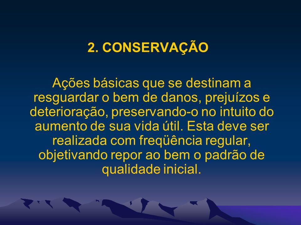 2. CONSERVAÇÃO