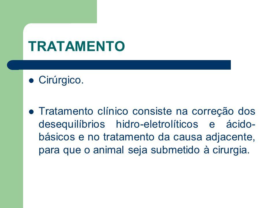 TRATAMENTO Cirúrgico.