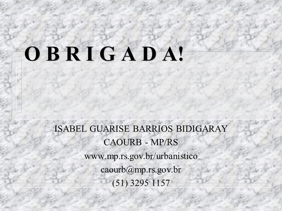 ISABEL GUARISE BARRIOS BIDIGARAY