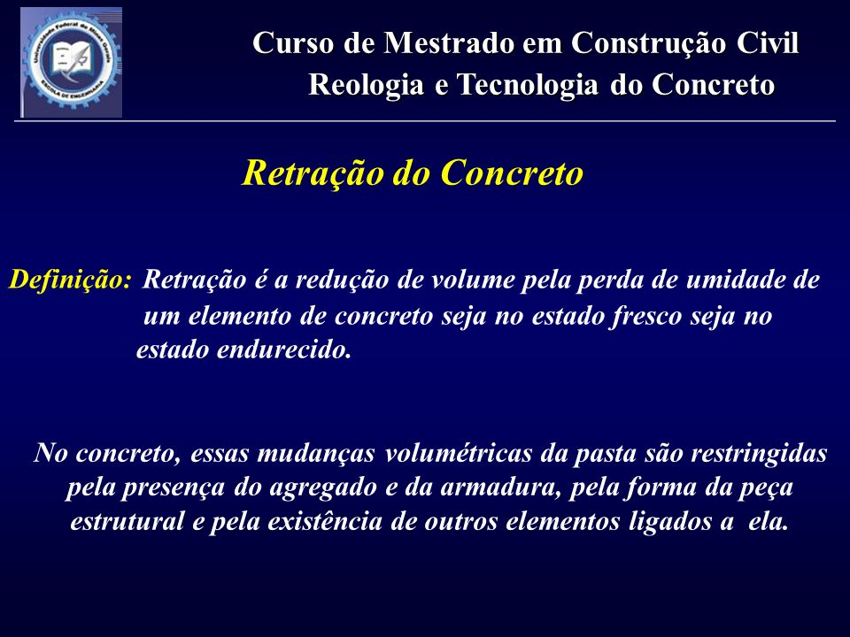 Reologia e Tecnologia do Concreto
