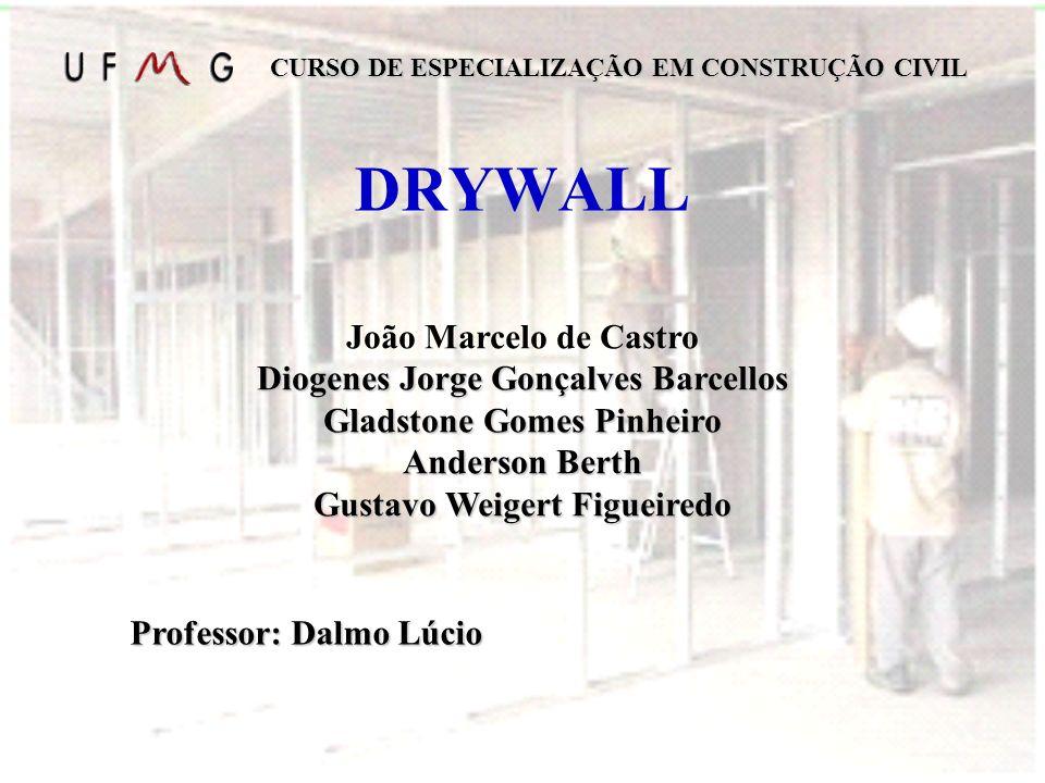 DRYWALL João Marcelo de Castro Diogenes Jorge Gonçalves Barcellos