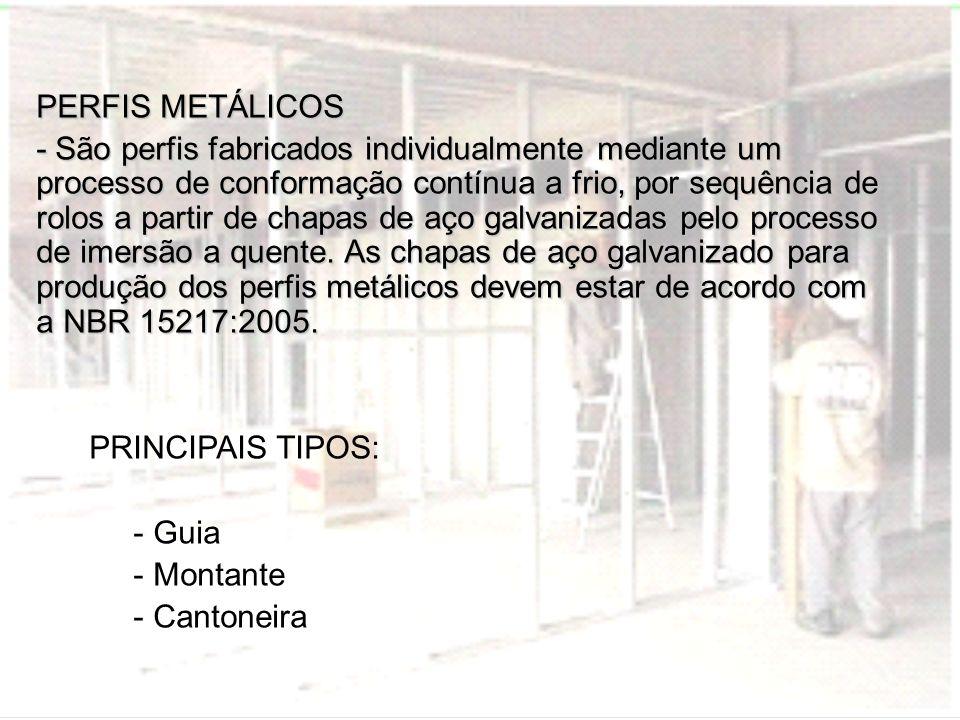 PERFIS METÁLICOS