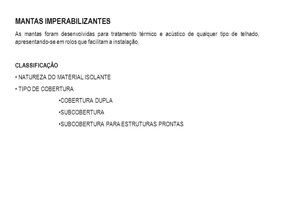 MANTAS IMPERABILIZANTES