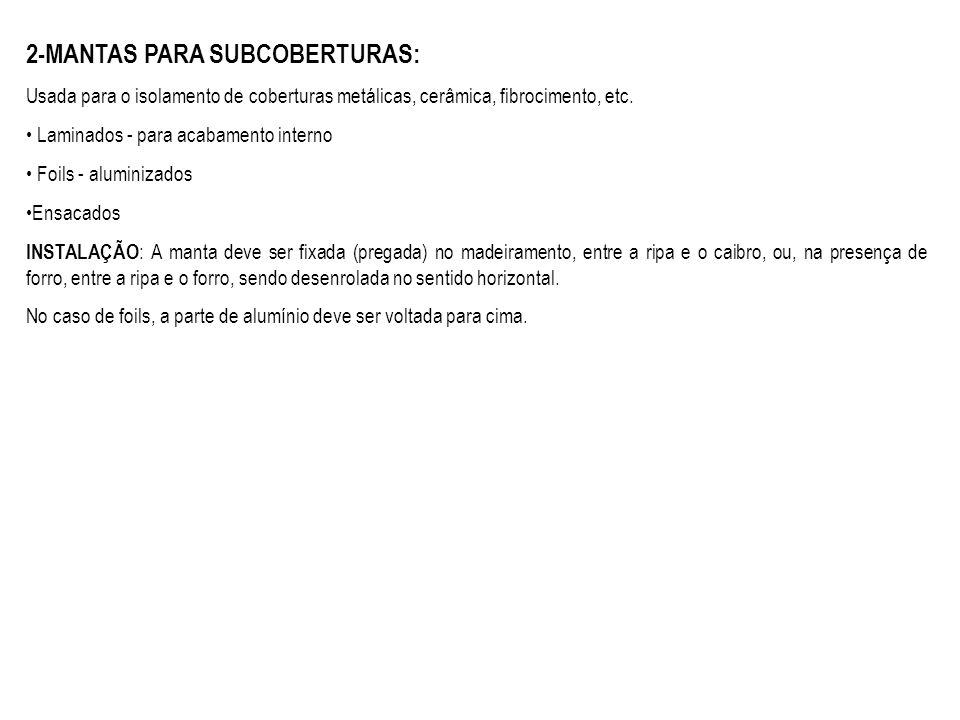 2-MANTAS PARA SUBCOBERTURAS: