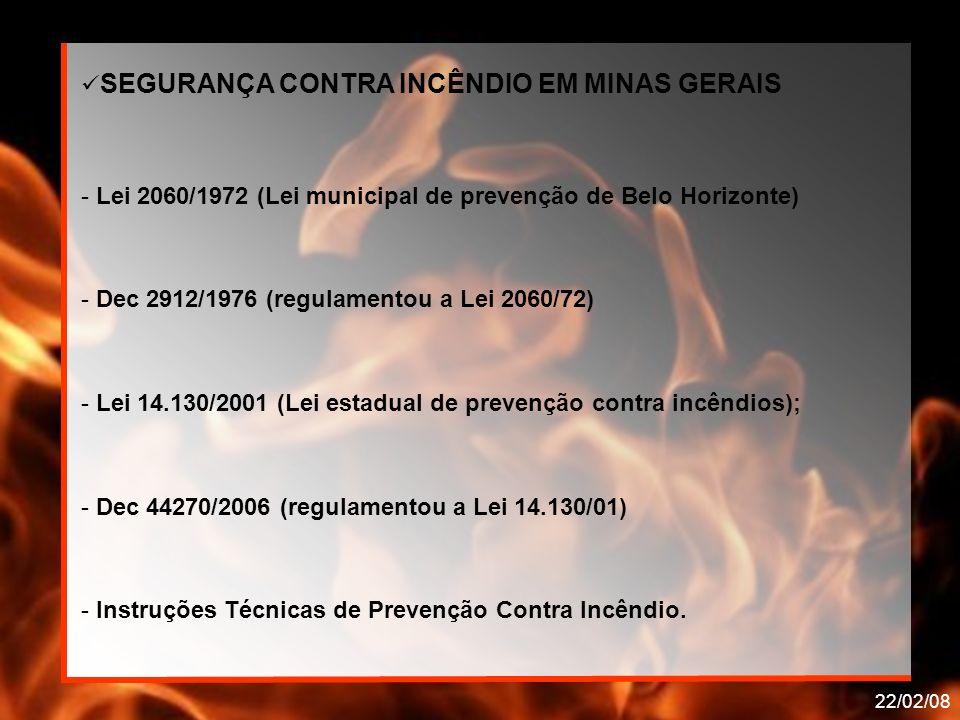 SEGURANÇA CONTRA INCÊNDIO EM MINAS GERAIS