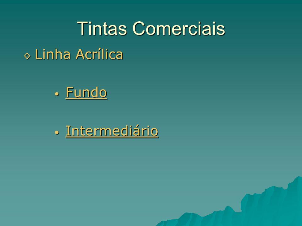 Tintas Comerciais Linha Acrílica Fundo Intermediário
