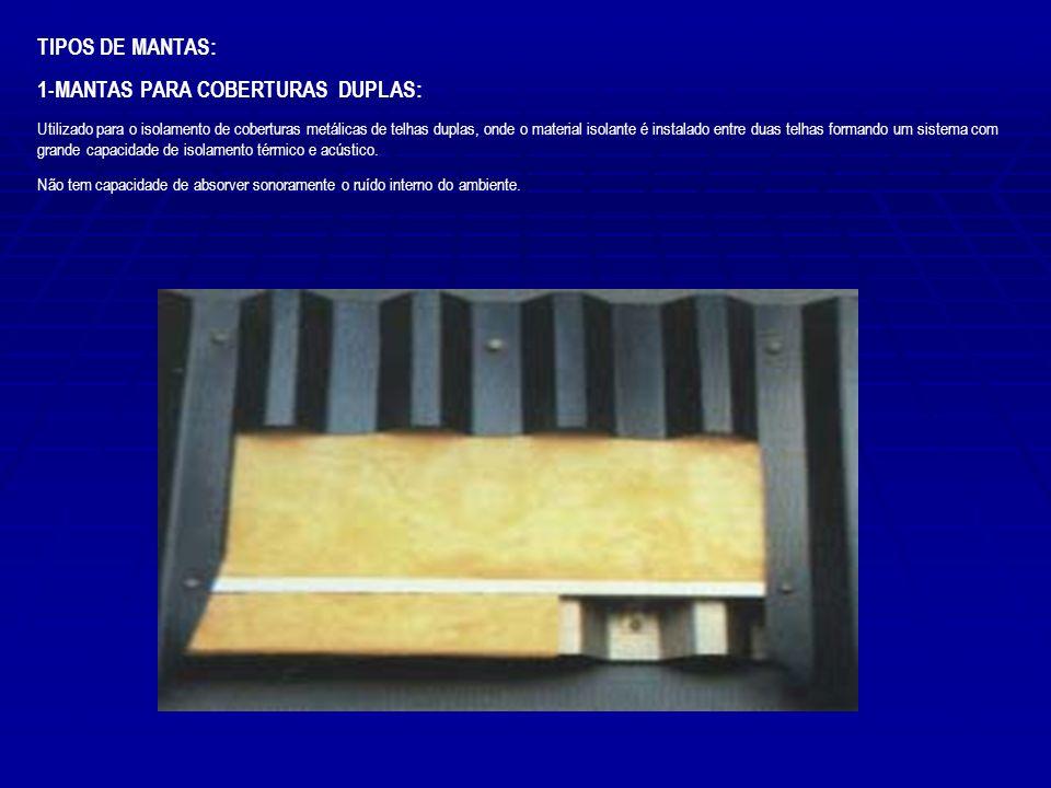 1-MANTAS PARA COBERTURAS DUPLAS: