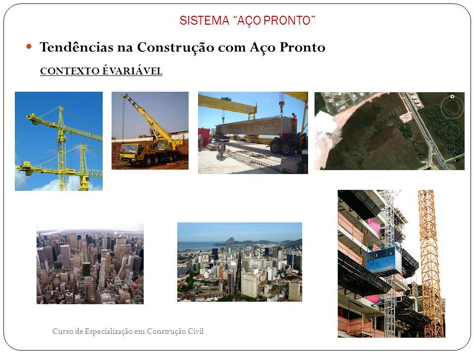 Tendências na Construção com Aço Pronto