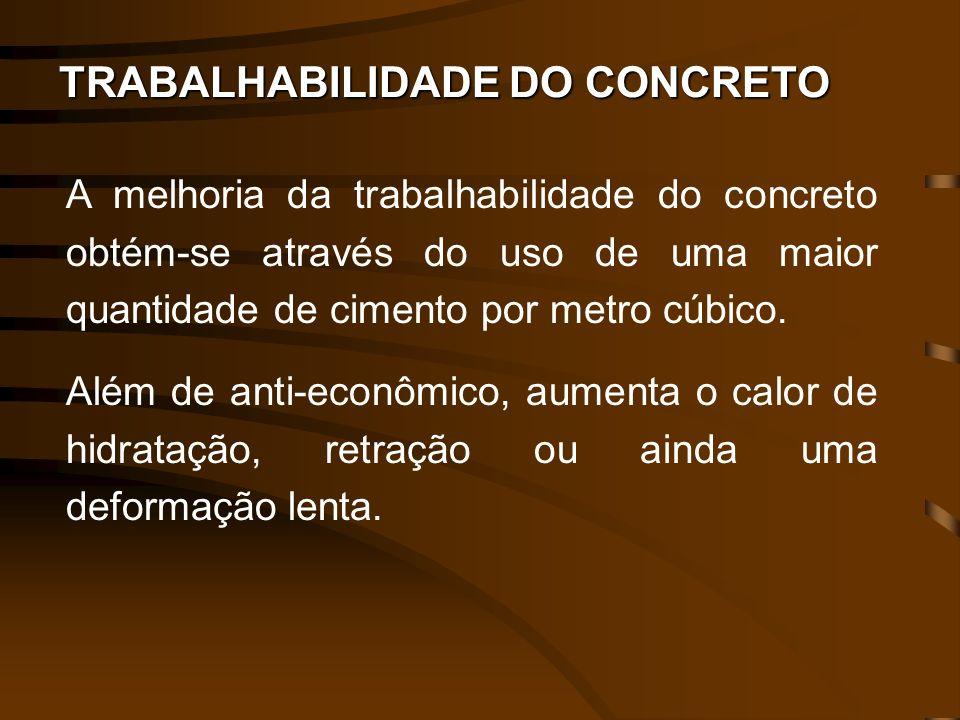 TRABALHABILIDADE DO CONCRETO