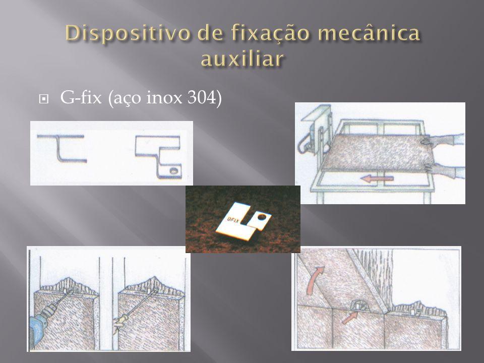 Dispositivo de fixação mecânica auxiliar