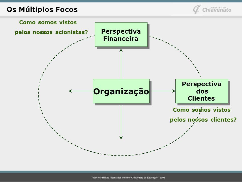 Organização Os Múltiplos Focos Perspectiva Financeira Perspectiva dos