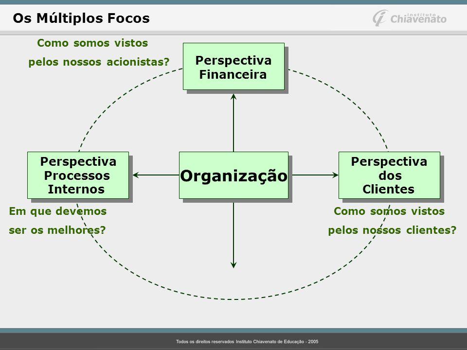 Organização Os Múltiplos Focos Perspectiva Financeira Perspectiva