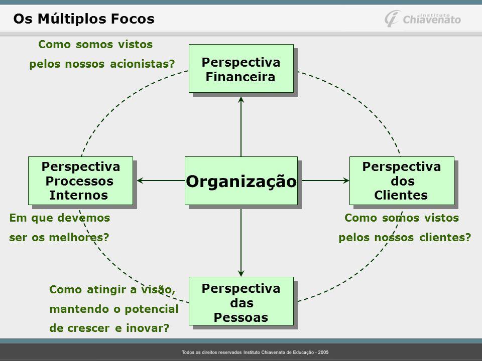 Organização Os Múltiplos Focos Perspectiva Financeira das Pessoas