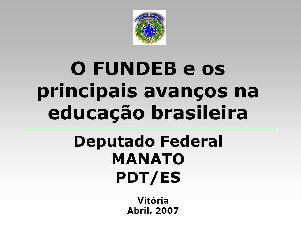 O FUNDEB e os principais avanços na educação brasileira