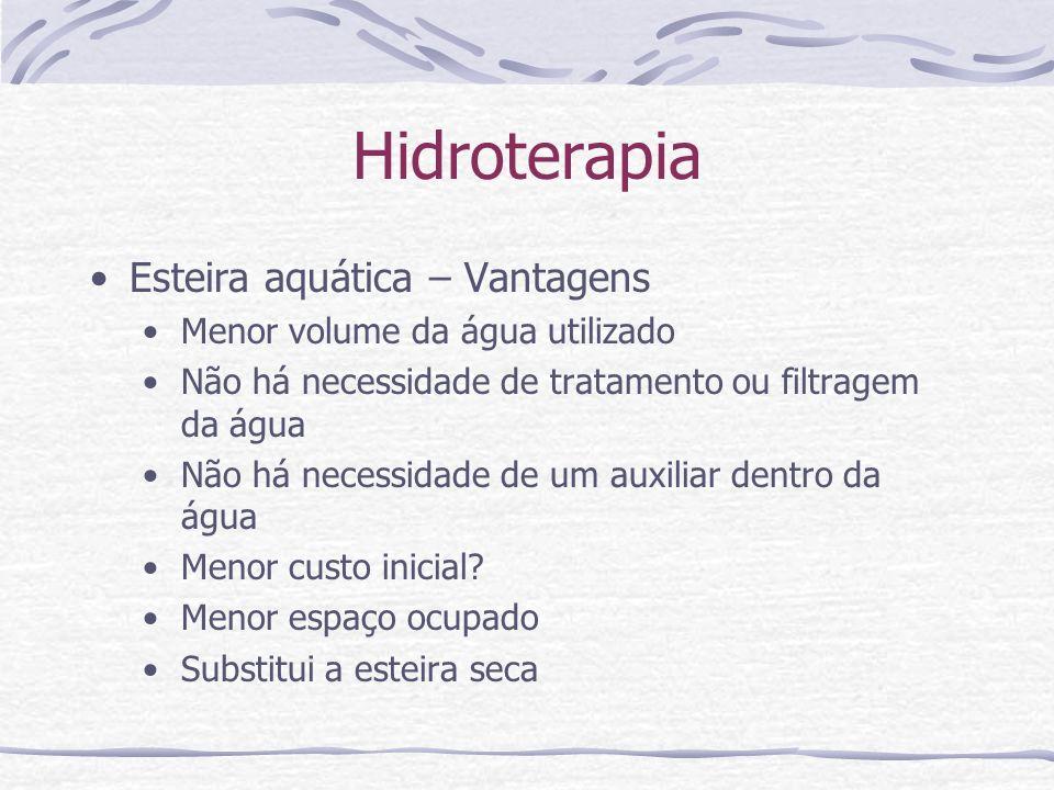 Hidroterapia Esteira aquática – Vantagens
