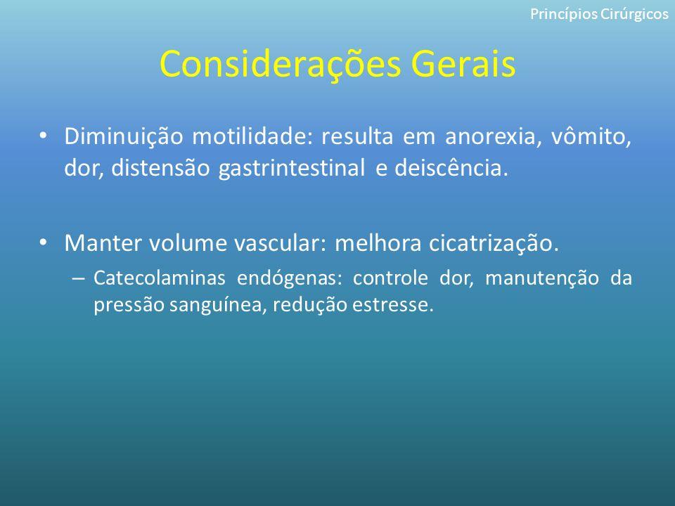 Princípios Cirúrgicos