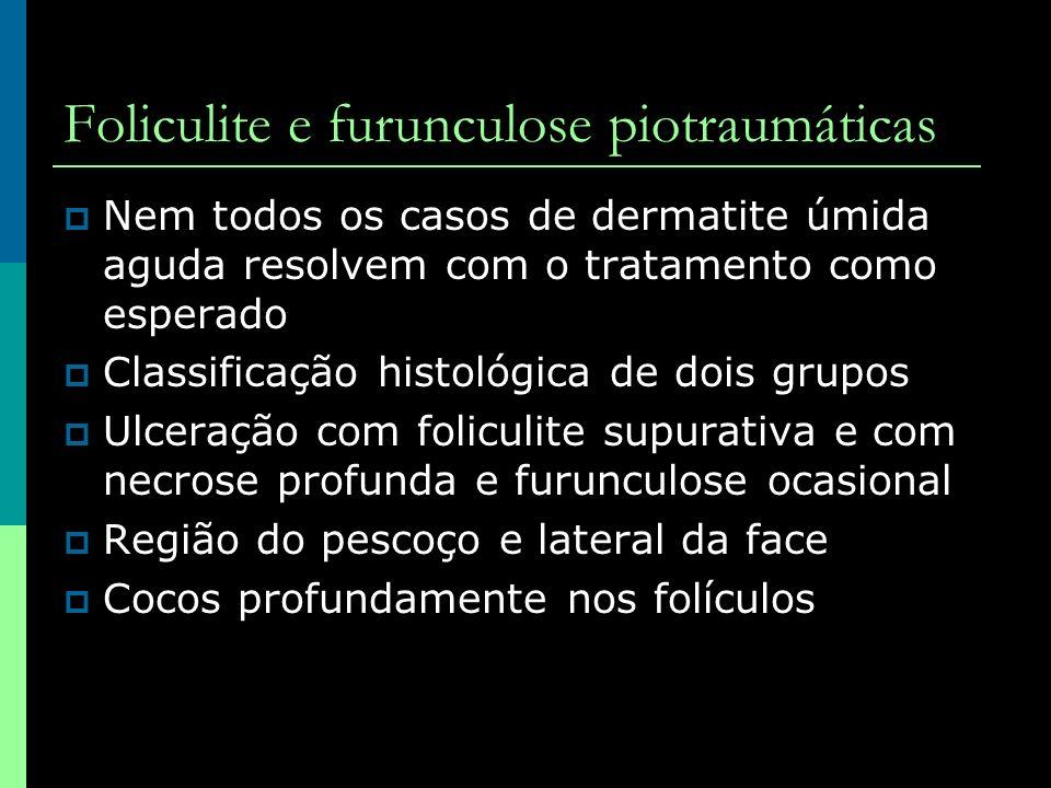 Foliculite e furunculose piotraumáticas