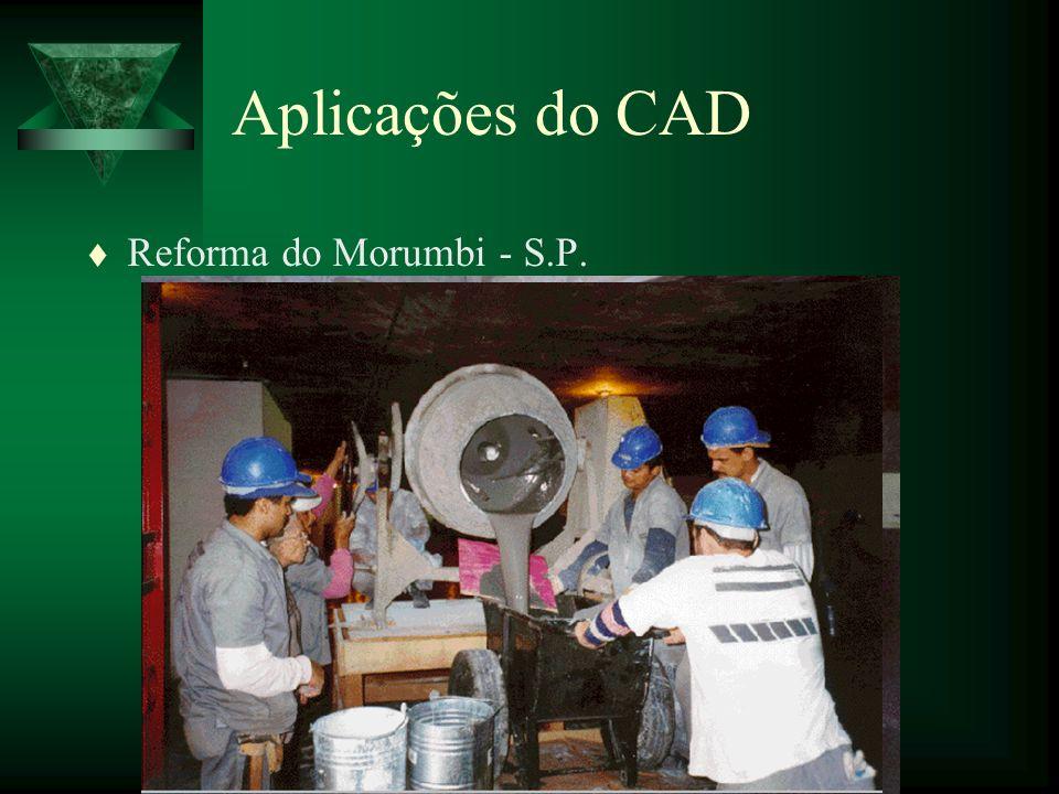 Aplicações do CAD Reforma do Morumbi - S.P.