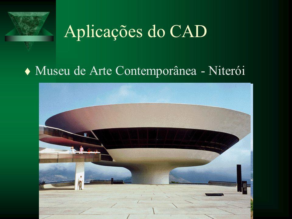 Aplicações do CAD Museu de Arte Contemporânea - Niterói