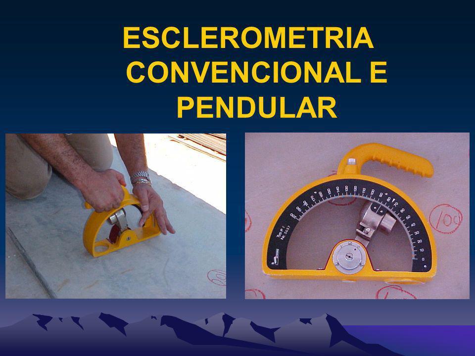 ESCLEROMETRIA CONVENCIONAL E PENDULAR