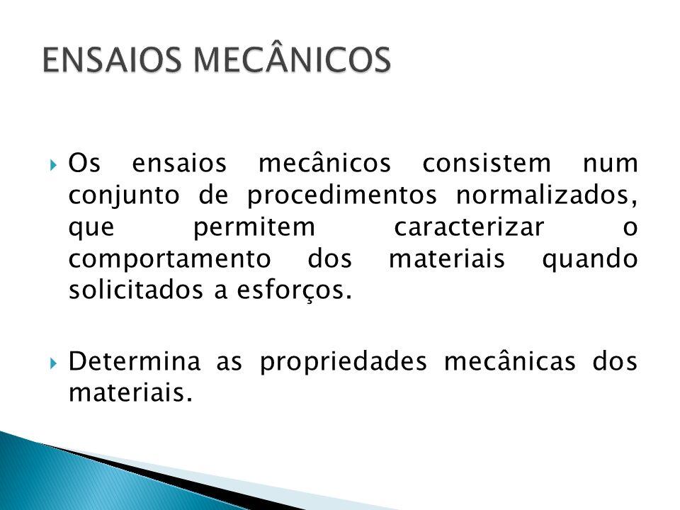 ENSAIOS MECÂNICOS