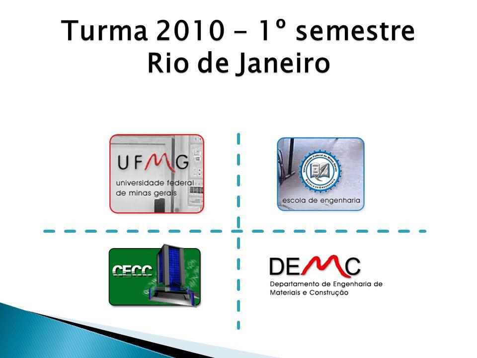 Turma 2010 - 1º semestre Rio de Janeiro