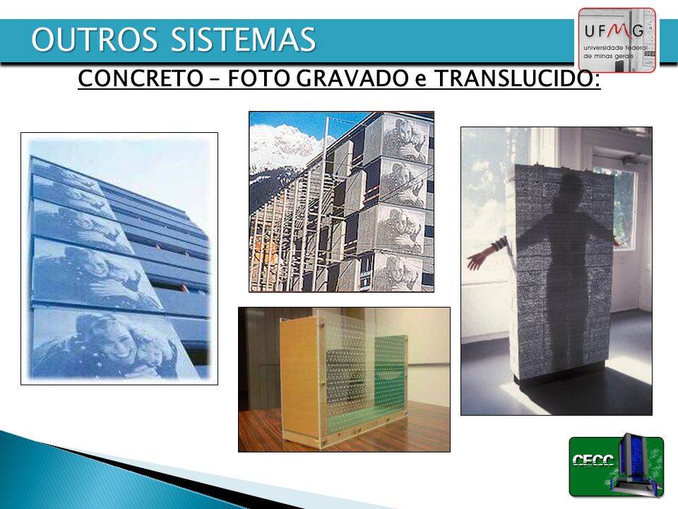 CONCRETO – FOTO GRAVADO e TRANSLUCIDO: