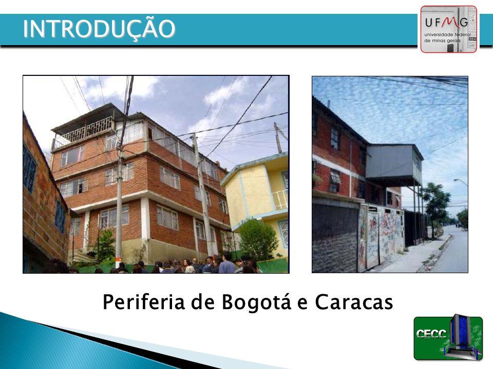 Periferia de Bogotá e Caracas