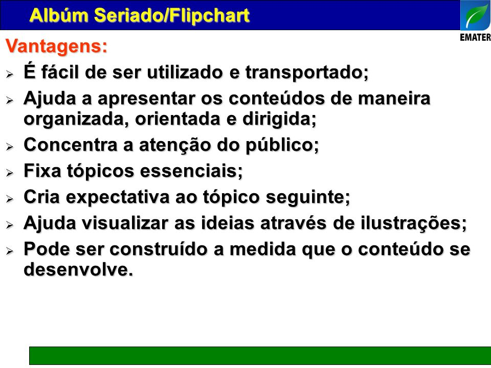 Albúm Seriado/Flipchart